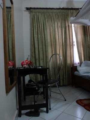 Iris - my room at Tumaini guest house.