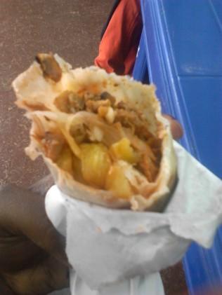 Shawarma at Dalas Supermarket