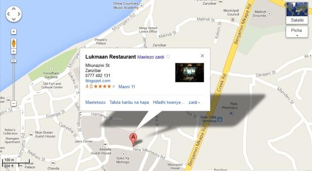 lukmaan google map