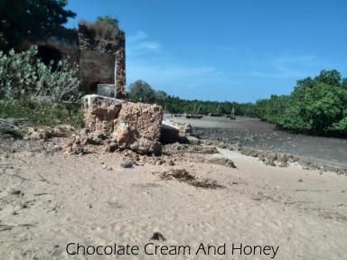 Ruins of a sea shore mosque