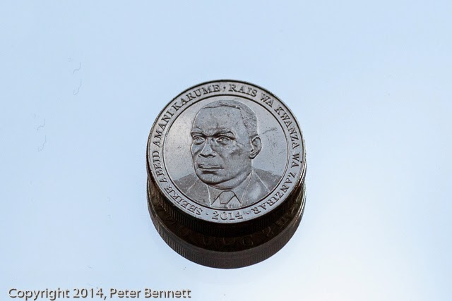 Nickel Plated Steel 500 Tanzanian Shilling Coin Chocolatecream