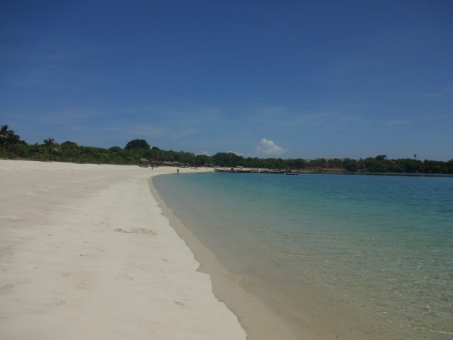 Kilwa is the best beach in Tanzania's coast line.