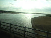 Over the river, across the bridge to Maputo.